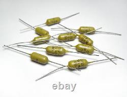 10 pcs original Mullard Mustard Capacitors 0.022 µF/400 V NOS from early 70's