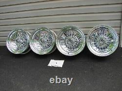 15x6 15x7 NOS APPLIANCE WIRE BASKET WHEELS 5X4.75 BC GM CHEVROLET OLDS PONTIAC