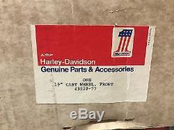 19 x 2.15 Genuine AMF Harley-Davidson Mag Wheel Rim 1973-78 XL FX XCH FXE NOS