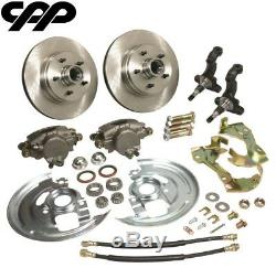 1964-72 Pontiac Gto Buick Gs Olds 442 Stock Spindle Disc Brake Conversion Kit