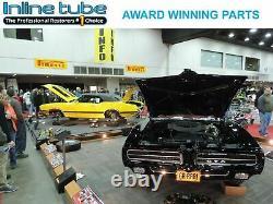1967-77 Pontiac GTO Lemans Firebird Chrome Engine Valve Covers No Drippers NOS