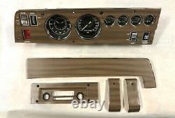1970 70 Mopar B Body GTX Charger RT/SE Dash woodgrain restoration HEMI Like NOS