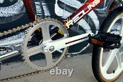 1986 REDLINE RL-20-II Pro Styler Freestyle BMX Complete Bike RL20II with NOS parts