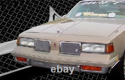 1987-1988 Olds Cutlass Supreme Euro Clip chrome mesh grille grill IN STOCK