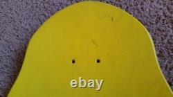 1988 Vintage Tony Hawk deck original yellow NOS Not Reissue Bones Brigade