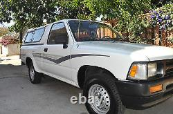 1990 TOYOTA BLUE STRIPES O. E. M. 1989 1991 1992 1993 Pickup decal TRUCK NOS KIT