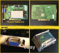 1pc 3dfx Voodoo3 3000 PCI rev. D 16Mb OEM NOS Tested! Retro Vintage VGA ekv001