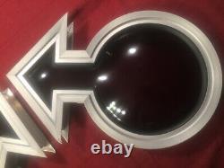 2 Custom Street Van 70's NOS Male Symbol Bubble Porthole Plexi Windows Chevy