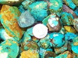 2000 Carat Lots of Old Stock Kingman, AZ Turquoise Rough VERY HIGH END