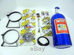 4 & 6 Cyl Nos Wet Nitrous System Bottle Gauge Kit New