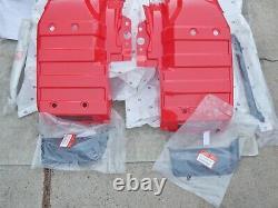 85-87 ATC250ES ATC 250ES 250 ES Big Red Nos Plastic Fender Side Cover Trim Set
