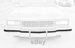 86-90 Front/Rear Impala Caprice Bumper Impact Rub Strip Cushion set 7037-050/044