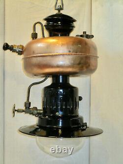 Alte NOS Hängelampe CONTINENTAL 740 Starklichtlampe Benzinlampe Petromax HASAG