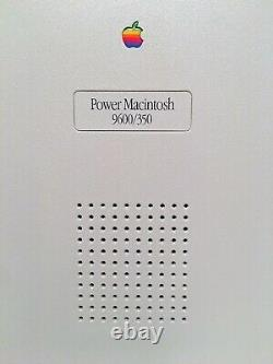 Apple PowerMac 9600/350 New (NOS) condition, rare vintage bundle, must see