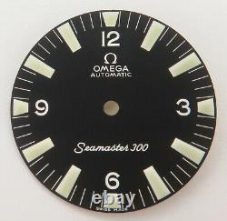 Auth Omega Seamaster 300 Dial for c. 552 064PP0827001- NEW OLD STOCK