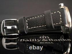 Bailly&banks Nibbio Aviator Sector Dial Nos Pilot Vintage No Iwc B-uhr Laco