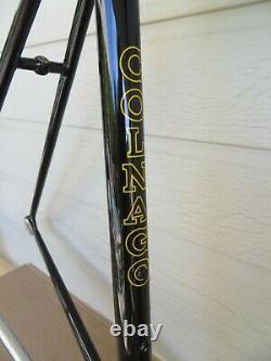 Colnago Vintage Columbus Frameset 52 cm Black NOS