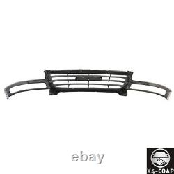 Dark Gray Grille Paint to Match For 03-07 GMC Sierra 1500 HD 2500 Pickup Truck
