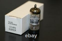 E88cc-01 Cv2493 Mullard Vintage Sq Low Noise 1980's Nos Valve/tube