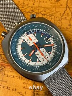 ESKA Automatik Flieger Bullhead Retro DAYDATE watch NOS Style Armbanduhr