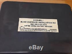FSI HYDRAULIC BLIND RIVET Kit Riveter Aviation NOS