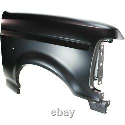 Fender For 1992-1997 Ford F-150 Front Right Primed Steel with Emblem Provision