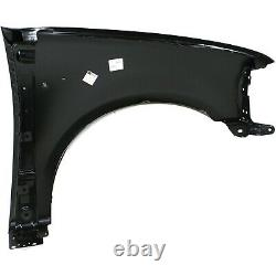 Fender For 1997-2003 Ford F-150 Front Driver Primed Steel with Emblem Provision