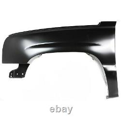 Fender For 2003-2006 Chevy Silverado 1500 USA Built Front Driver Primed Steel