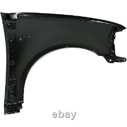 Fender Set For 1997-2003 Ford F-150 Front Primed Steel Pair with Emblem Provision