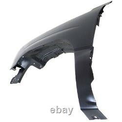 Fender Set For 2003-2006 Chevrolet Silverado 1500 Front Primed Steel Pair CAPA
