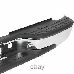 For 1999-2007 Complete Chrome Rear Step Bumper Chevy Silverado 2500 HD 3500