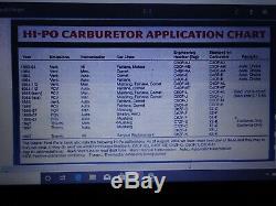 Ford Mustang 289 Hipo K Code Nos Autolite Carburetor