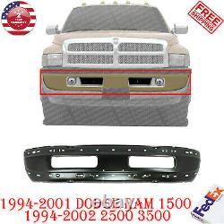 Front Bumper Primed Steel For 1994 2001 Dodge Ram 1500 1994 2002 2500 3500