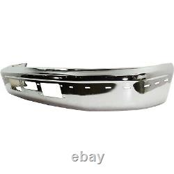Front Bumper for 95-97 Ford F-250 92-96 Bronco Chrome Steel