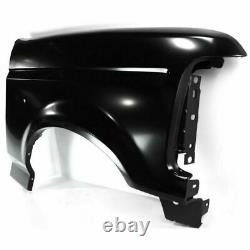 Front Fender Primed LH+RH For 1992-1997 Ford F- Series F-150 F-250 F-350 Bronco