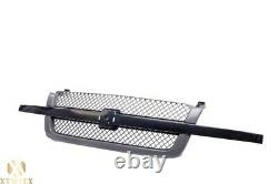 Front SS Grille Assembly Fits 2003-2007 Chevy Silverado 1500 2500 3500 V6 V8