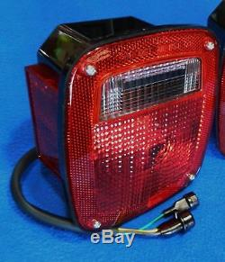 GM Stepside Truck 1977-87 Tail Lamps Chevy GMC 77 78 79 80 81 82 83 84 85 86 87