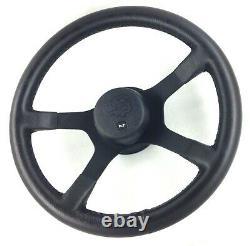 Genuine Ford RS Motorsport 4 spoke steering wheel and hub, Escort MK5. NOS! 18A