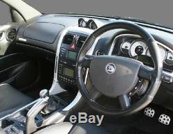 Genuine Holden HSV VY VZ V8 6 Speed Manual Shifter Knob Black Silver GMH NOS VS