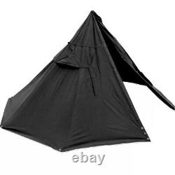 Genuine New Old Stock Used Polish Lavvu shelter tent Two Canvas Ponchos
