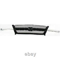 Grille 2003-06 For Chevy Silverado/Avalanche 1500 Gray Chr Bar witho Body Cladding