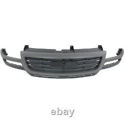 Grille For 2003-2007 GMC Sierra 2500 HD Sierra 3500 Gray Shell with Black Insert