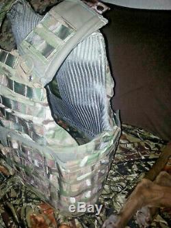 Heavy tactical body armor bulletproof vest IIIA ballistic vest NOS