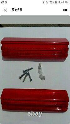 Honda Atc Big Red 250es Tail Light Lenses/bulbs/screws/hondaline 1985/86/87 Nos
