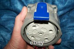 ISV Marechal Einbaudose J04 DS 6 3PH + N E 400V Prise DS6 T 90A metall NOS TOP