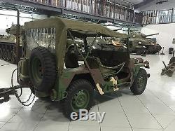 Jeep M151 M151A1 M151A2 MUTT Top Cover Vehicular Vinyl OD Green NOS RARE