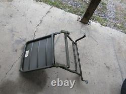 Jeep Willys NOS M38A1 Driver seat very solid 100% original G758