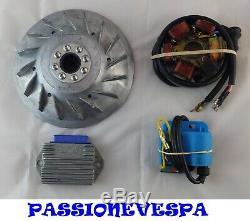 Kit Accensione Elettronica Modifica Vespa 50 Special L N R 125 Primavera Et3 Nos