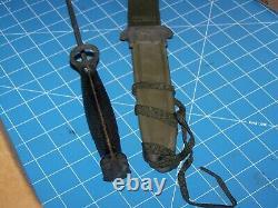Knife M7 Bayonet Imperial BOC + M8A1 Scabbard Military USMC NOS NIB Unissued USA