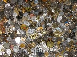 Lot of (25) Vintage Catholic Religious Medals Relics Charm Pendants Sterling NOS